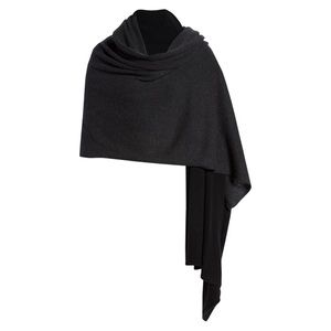 "New Halogen Colorblock Cashmere Wrap 36"" x 80"""